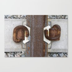 track knot Canvas Print