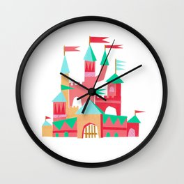 Collage Castle Wall Clock