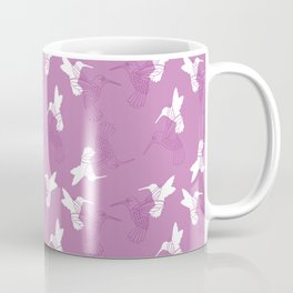 Humming Bird Pink Coffee Mug