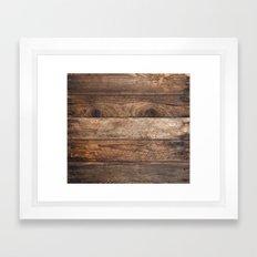 Vintage Wood Framed Art Print