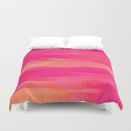 Hot Pink Magic Duvet Cover