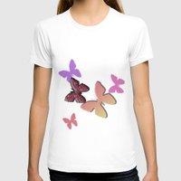 butterflies T-shirts featuring Butterflies by Judith Lee Folde Photography & Art