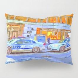 New York Police Department Pop Art Pillow Sham