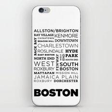 City of Neighborhoods - II iPhone & iPod Skin