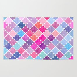 Watercolor Lovely Pattern CII Rug