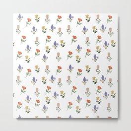Wild Mountain Flower Dreams Metal Print