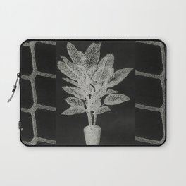 Strong Saints - Magic Dark collage with key, saints, net, shells, plants and grid Laptop Sleeve