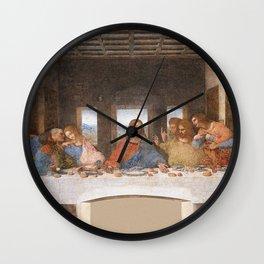 The Last Supper - Leonardo Da Vinci Wall Clock