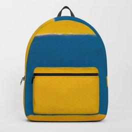 Untitled (Yellow and Blue) by Mark Rothko HD Backpack