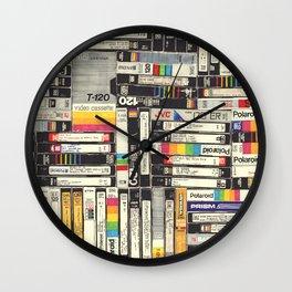 VHS I Wall Clock