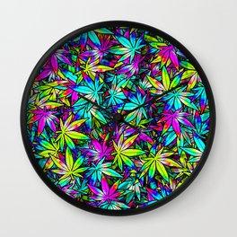 Kush Wall Clock