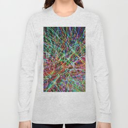 Abstract Composition 157 Long Sleeve T-shirt