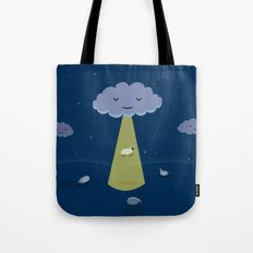 How Clouds Stay Fluffy Tote Bag