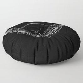 Death's-head Hawkmoth Floor Pillow