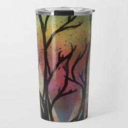 Colors through the trees Travel Mug