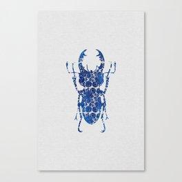Blue Beetle III Canvas Print