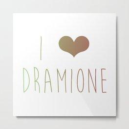 I Love Dramione Metal Print