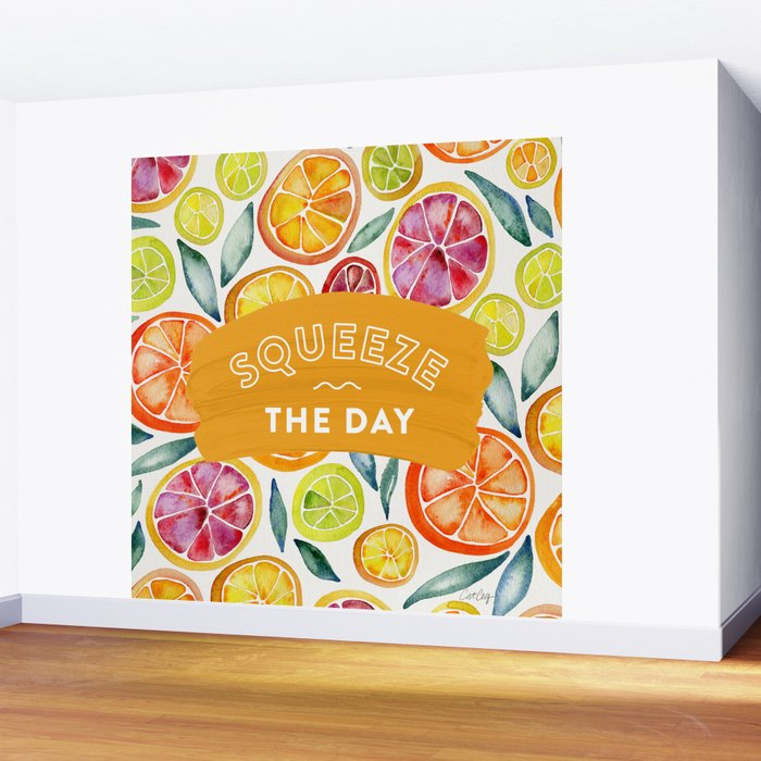 Squeeze the Day – Multi Palette Wall Mural