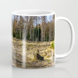 Fallen And Broken Trees After Storm Victoria February 2020 Möhne Forest 6 Coffee Mug