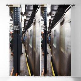 Wallstreet Subway Blackout Curtain