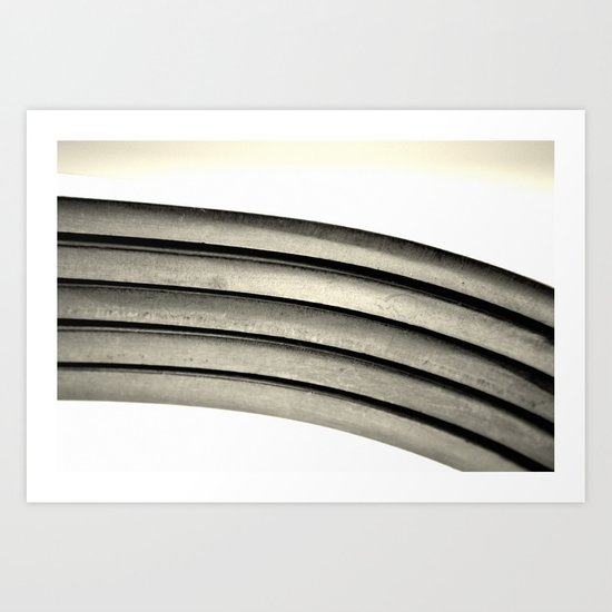 Spoons Art Print