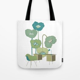 Desk & Chair #1 Tote Bag