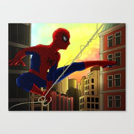 Your Friendly Neighborhood Spider-Man Canvas Print