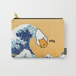 gudetama's great wave Carry-All Pouch