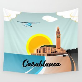 Casablanca Morocco Wall Tapestry