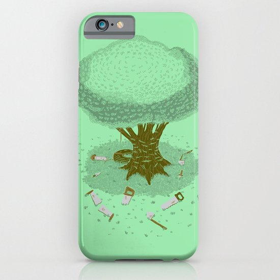 The Toughest Tree iPhone & iPod Case