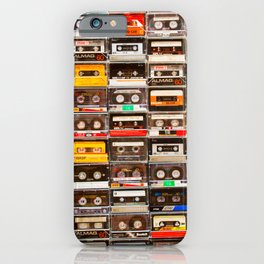 Something Nostalgic V - Music - Global Language #decor #society6 #buyart iPhone Case