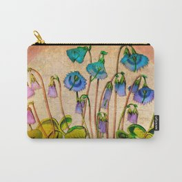 Flower Bells Carry-All Pouch