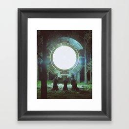 AUGMENTED (everyday 08.26.16) Framed Art Print
