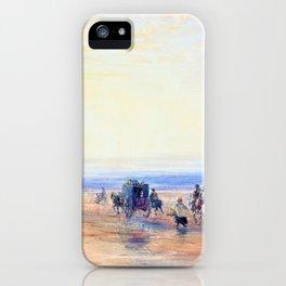 Crossing Lancaster Sands - Digital Remastered Edition iPhone Case