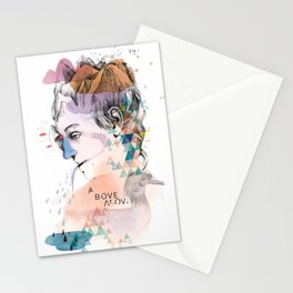 Mountain Head Stationery Cards