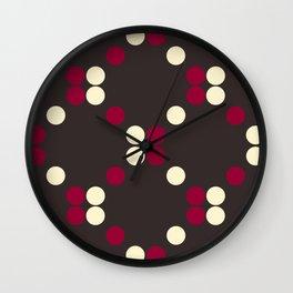 DOTS TTY N11 Wall Clock