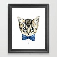 Un petit chaton Framed Art Print