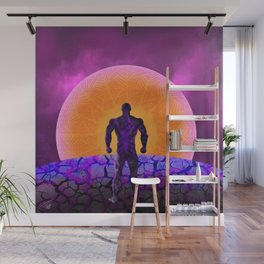 Black Panther Sunset Wall Mural