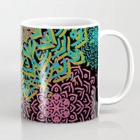 boho Mugs featuring Boho Medallions by Lisa Argyropoulos