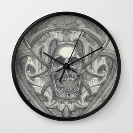 Crossed scythes Wall Clock