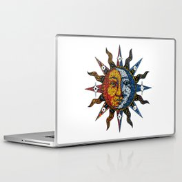 Celestial Mosaic Sun and Moon Laptop & iPad Skin