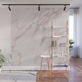 Real Rose Gold Marble Wall Mural