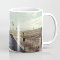 dwight schrute Mugs featuring the dwight d eisenhower lock by Amanda Stockwell
