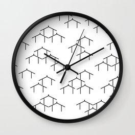 MAD WHARE-IWI Mangu Wall Clock
