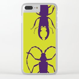 Beetle Grid V5 Clear iPhone Case