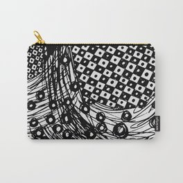 pulsating checkers Carry-All Pouch
