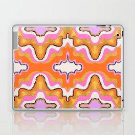 Orange Groove Laptop & iPad Skin