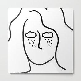 rainy soul Metal Print