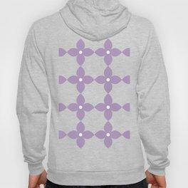 Pastel Purple Flower Minimal Pattern Hoody