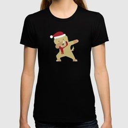 Dabbing Labrador Santa Best Gift For Christmas T-shirt
